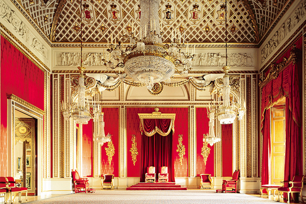 Throne Room, Buckingham Palace - Royal Collection Trust © Her Majesty Queen Elizabeth II 2019